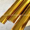 Clinquant d'estampage chaud coloré de clinquant d'or pour la carte de papier