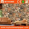 Le plus défunt papier peint en bois de la conception 3D pour la décoration de mur