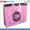 Papel de color rosa Bolsa de la compra para la venta
