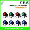 7 X 10W Mini LED PAR voor Disco en DJ Lighting