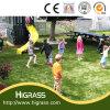 Alfombra artificial del césped de la hierba para el patio de los niños