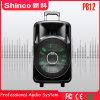 Shinco 12 pulgadas de gran potencia altavoz Bluetooth inalámbrico recargable con luz LED