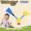 Brinquedo plástico da instrução de DIY para brinquedos do bloco de apartamentos das crianças dos miúdos
