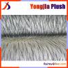 Collier épais Down Coat Astuce raton-laveur artificiel blanc cheveux teints
