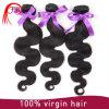 ボディ波100%の自然なインドの人間の毛髪の値段表の卸売
