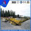 Agregada planta de trituración móvil / mini planta trituradora móvil para el agregado de la planta