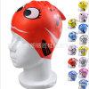 직업적인 방수 주문을 받아서 만들어진 로고 인쇄 실리콘 아이들의 수영 모자
