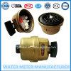 Metro ad acqua volumetrico d'ottone del pistone rotante di Dn15-25mm