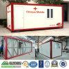 Casa prefabbricata d'acciaio modulare del contenitore