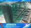 Económico claro vidrio templado para proyecto de construcción residencial