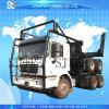 森林交通機関のトラックのトレーラーのログの交通機関のトラックのトレーラー