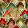 Sofà 100% della tappezzeria della tessile del poliestere e tessuto domestici stampati dell'ammortizzatore