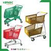 De goede Boodschappenwagentjes van de Kruidenierswinkel van de Prijs Plastic voor Verkoop