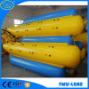 Barca di banana gonfiabile della sosta dell'acqua per il gioco