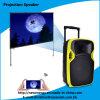 Fachmann 12 Zoll bewegliche DJ-Lautsprecher-mit LED-Projektor