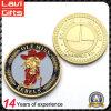Heiß-Verkauf der kundenspezifischen doppelten Goldmünze-Gedenkandenken-Münze
