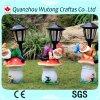Gnomes Handmade feitos sob encomenda da resina da decoração do jardim com luz