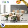 Mesa de escritório moderna L divisória do escritório da estação de trabalho da forma (HX-PT5076)