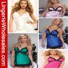 Cinco colores más la ropa interior atractiva de la ropa interior Backless de la talla