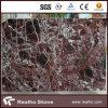 Dunkelrote Rosso Levanto Marmorpolierplatten für Countertops, Eitelkeits-Oberseiten, Wand u. Fußboden