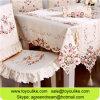 O Cutwork Handmade bordou o jogo de jantar bege do Tablecloth