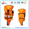 Jaqueta flutuante infantil de cor laranja