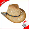 Sombrero de vaquero de papel del sombrero de paja