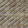 Cuir en PVC d'ameublement design de mode (QDL-US0015)