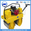 High Quality Double Drum Walk Behind Vibrating Mini Road Roller