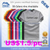 21s/32s Cotton Advertizing T Shirt Wholesale China Promotional Mens T-Hemd 100% Manufacturer