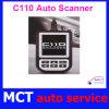 BMWのコード読者の診断走査器C110の自動走査器OBD2 Eobd2の走査器のための最新バージョンの走査器C110