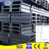 Galvanisierter oder schwarzer Profil-Preis des Eisen-U (Q235/Q345)