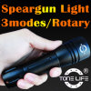 Tonelife Tl2102 Mini Diving Mask Torch mit Rotary Switch Aluminium Scuba Dive Lights Underwater 150m Flashlight