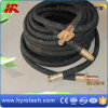 Tuyau noir de souffle de sable/tuyau hydraulique en stock
