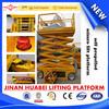 12m Selbst-angetriebenes Hydraulic Scissor Lift Platform für Streetlight Maintenance