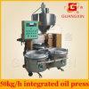 Mini máquina combinada de fabricação de óleo de ricino (YZYX70ZWY)
