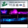 Divers Shapes Breathtaking Music Fountain devant Hotel ou Large Buildings