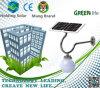 El ahorro de energía solar LED de luz de pared para el exterior mediante