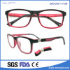 Chine Double Solid Color Kids Lunettes Optiques Full-Frames