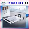 Wand-in der Massage-Badewanne mit Fernsehapparat - DVD