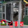 Indicador alemão da porta deslizante do PVC com tela de segurança