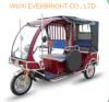 مسافرة 3 عربة ذو عجلات [ريكشو] ذاتيّة في بنغلادش سوق