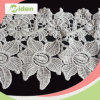 Bridal를 위한 장식적인 Lace Trim Customized Embroidery 프랑스 Guipure Lace