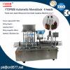 Automatische Pasten-füllende und mit einer Kappe bedeckende Maschine (2 in 1)