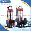 Grande potência da bomba de água de esgoto submersíveis