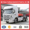 Caminhão do trator do Tri-Anel 6X4/caminhão de reboque/cabeça do reboque