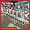 Máquina de secagem de ar de fruta contínuo máquina de sopro de produtos hortícolas