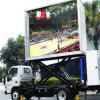 Im Freien Förderwagen P12 bewegliche bekanntmachende LED-Bildschirmanzeige