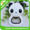 Консервооткрыватель бутылки дешевой штанги формы панды милой изготовленный на заказ резиновый