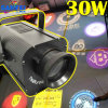 Kundenspezifisches 30W Logo Projector LED Gobo Text Effect Lights